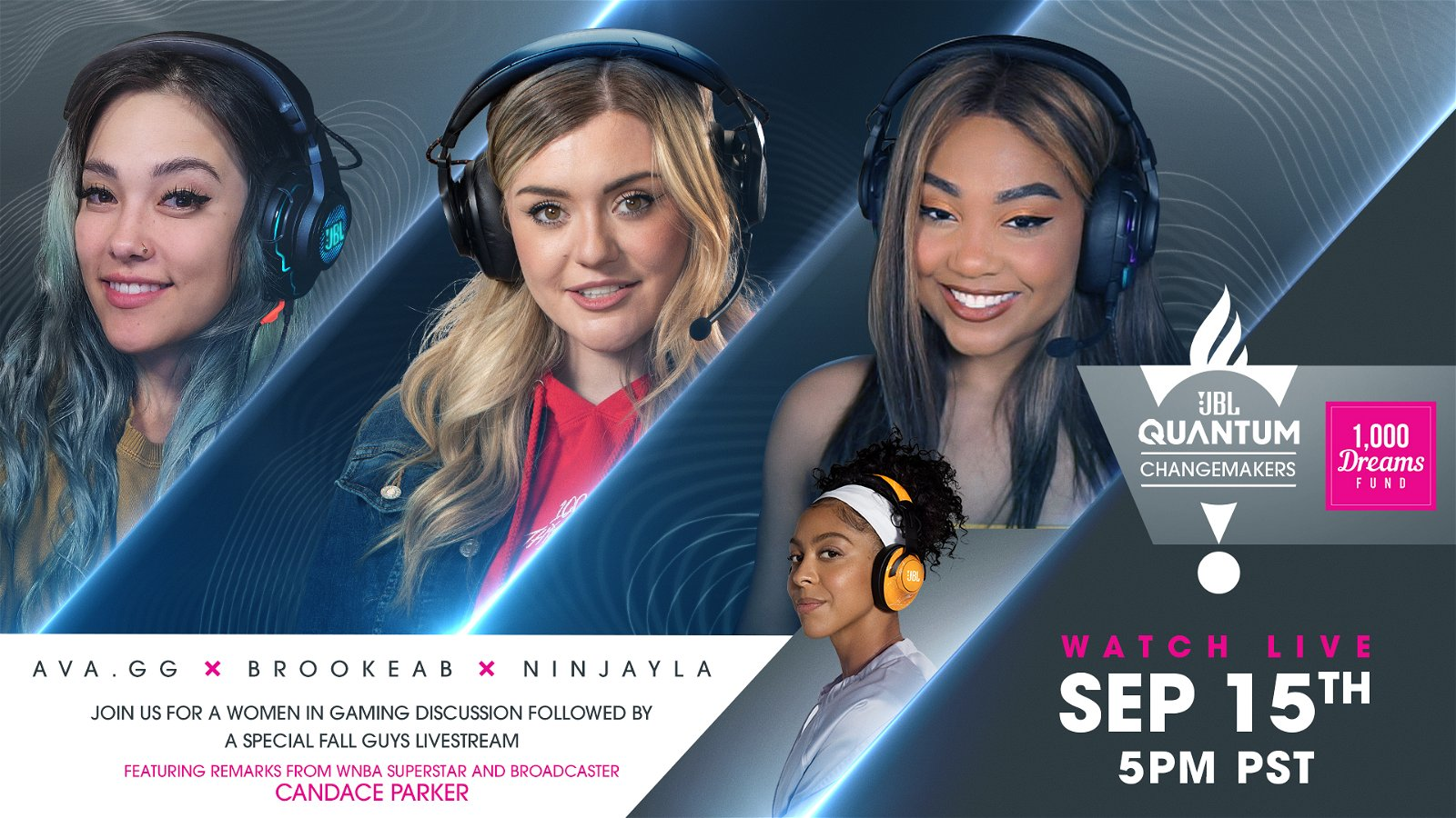 JBL Announces Changemakers Event, A Conversation With Women in Gaming 2