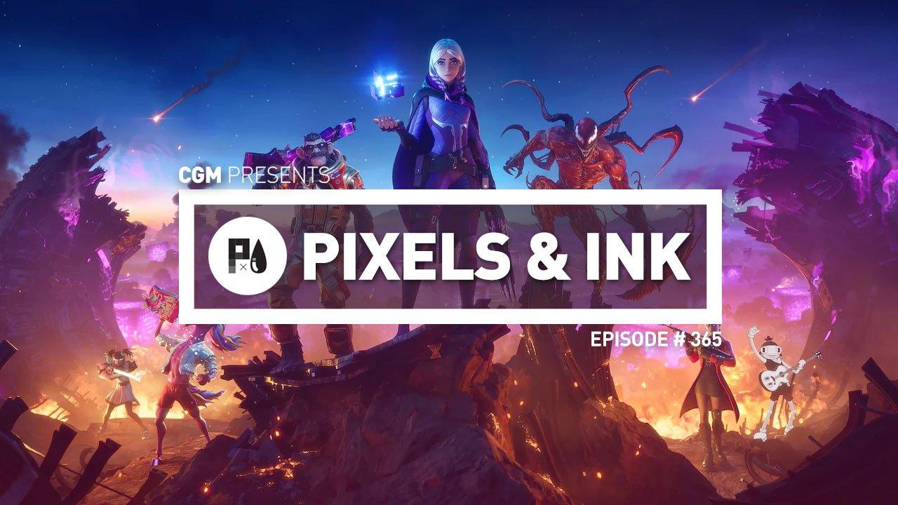 Pixels & Ink Podcast: Episode 365