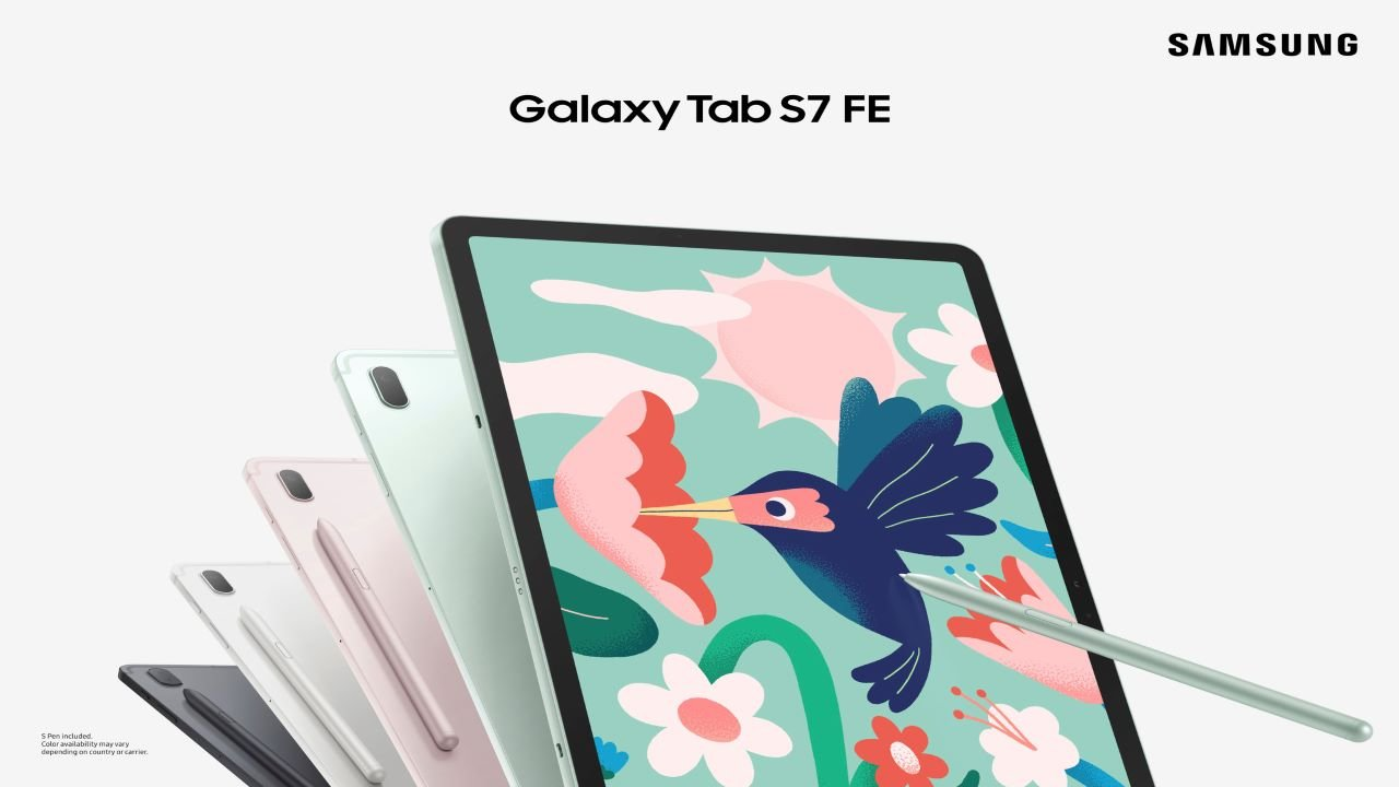 The New Samsung Galaxy Tab S7 FE is Now Available at Retailers