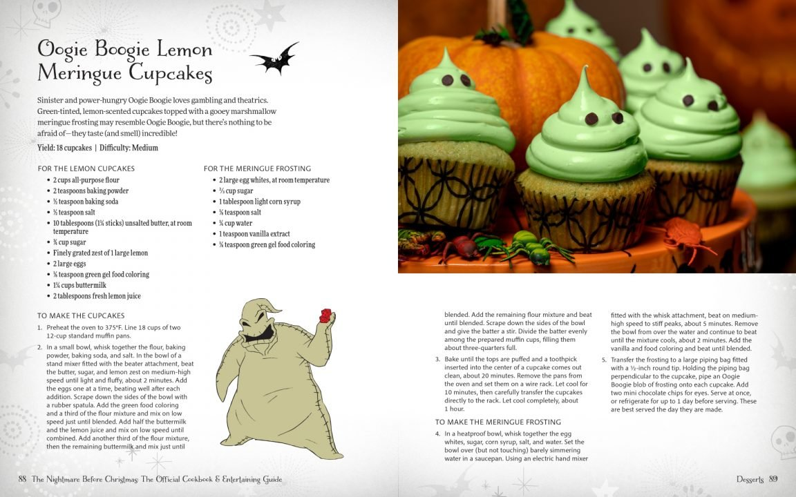 Tim Burton's The Nightmare Before Christmas: The Official Cookbook And Entertainment Guide