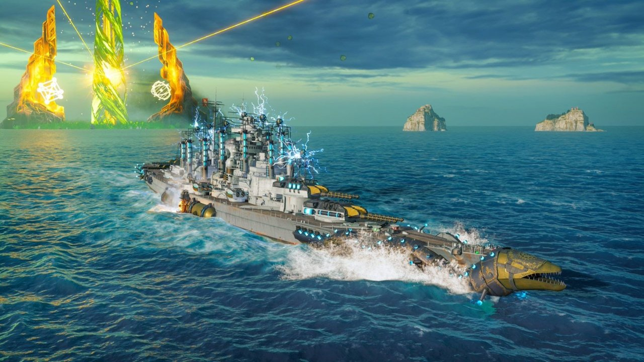 World of Warships: Legends has released a new Spooky 3.7 update