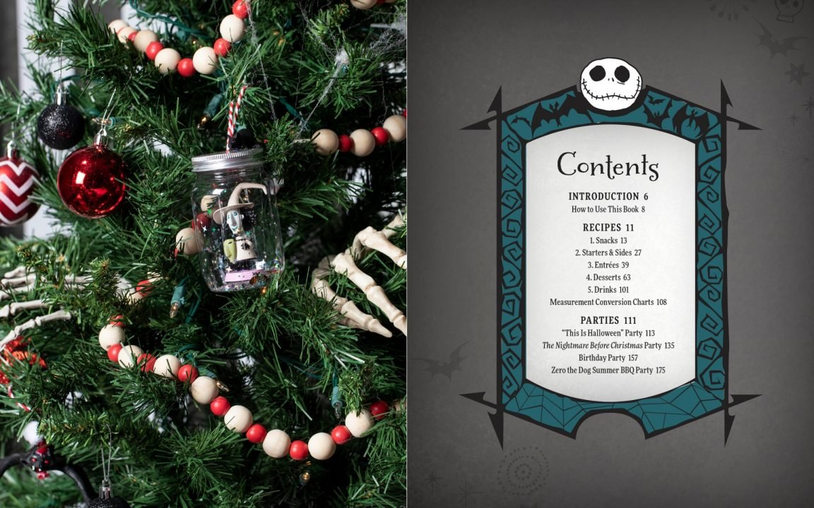 Tim Burton's The Nightmare Before Christmas: The Official Cookbook And Entertainment Guide 3