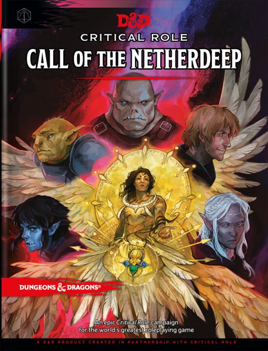Critical Role: Call Of The Netherdeep Is The Group'S First Full-Fledged Published Adventure For D&Amp;D.