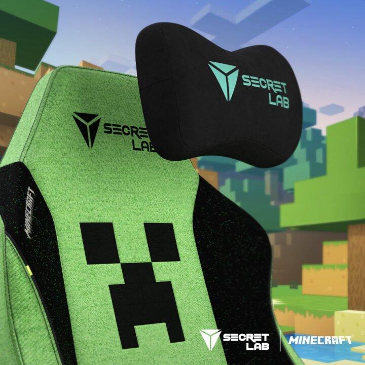 Secretlab Titan Evo 2022 Minecraft Edition Announced 1