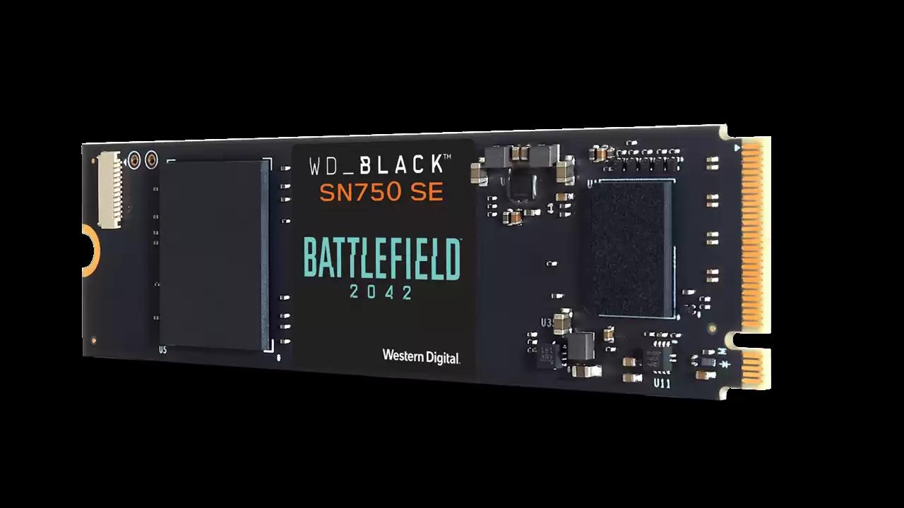 Wd_Black Nvme Sn750 Se Battlefield Bundle