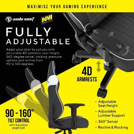 Andaseat Launches The Strong Navi Edition Gaming Chair