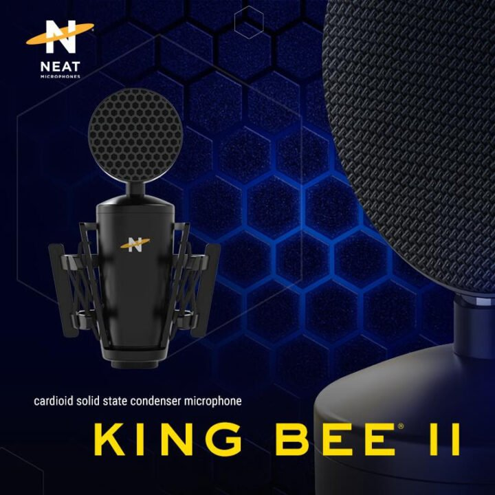 Neat Microphones' Eagerly Anticipated King Bee Ii Xlr Microphone Is Making A Big Landing November 16